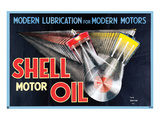Shell Modern Lubrication Posters