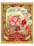 Steele Briggs Seed Catalogue Poster
