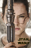 Star Wars Force Awakens- Rey Portrait Poster
