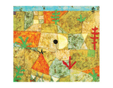 Southern Gardens Premium Giclee Print by Paul Klee