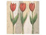 Spring Feeling in Red Prints by Karsten Kirchner