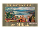 See Britain First on Shell Poster