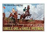 Shell the Quick Strating Pair Wydruk giclee premium