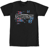 Star Wars Battlefront- X-Wing vs. Tie T-Shirt