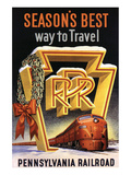 Season's Best Way to Travel Poster
