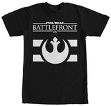 Star Wars Battlefront- White Alliance Logo T-Shirt