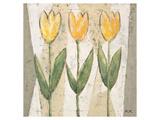 Spring Feeling in Yellow Poster by Karsten Kirchner
