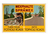 Shell Mexhalte & Spramex Posters