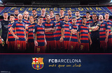 FC Barcelona- Team 2015 Posters