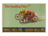 Shell Triple Oil & Golden Oil Posters