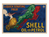 Shell Oil and Petrol Obrazy