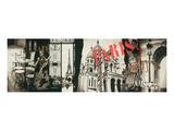 Streets of Paris Prints by  Joadoor