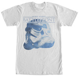 Star Wars Battlefront- Trooper Battle Helmet T-Shirts