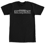Star Wars Battlefront- White Logo T-shirts