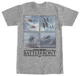 Star Wars Battlefront- Opposing Vehicles T-shirts