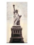Statue of Liberty N.Y.C. Giclee-tryk i høj kvalitet af Talantbek Chekirov