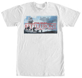 Star Wars Battlefront- Panoramic Title Logo Shirts