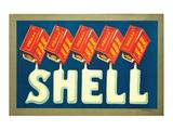 Shell Motor Spirit Poster