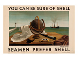 Seamen Prefer Shell Prints