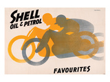 Shell Oil & Petrol Favourites Print