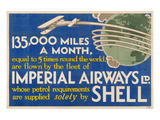Shell Imperial Airways Fleet Art