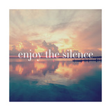 Enjoy the Silence Posters by Bruce Nawrocke