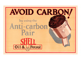 Shell Avoid Carbon Poster