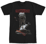 Star Wars Battlefront- AT-AT Facedown Tshirt