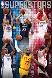 NBA- Superstars 2015 Posters