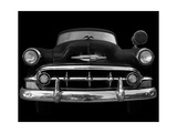 Black and White Classic Ride Print by Robert Jones