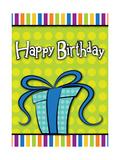 Happy Birthday Present Poster by  Josefina