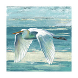 Great Egret II Art by Patricia Pinto