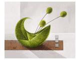 Swinging Balloon Blooms Poster af Karsten Kirchner