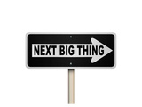 The Next Big Thing Oneway Sign Posters