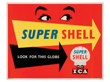 Super Shell Plus Ica Posters