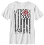 Youth: Gas Monkey- Wrench Flag T-Shirt