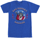 Gas Monkey- Stars And Stripes Helmet Shirt