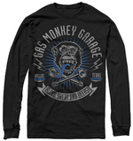 Long Sleeve: Gas Monkey- Xreset Garage T-Shirt