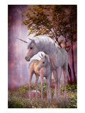 Unicorns Mare and Foal Prints