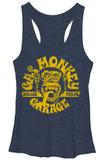 Juniors Tank Top: Gas Monkey- Gas Face Womens Tank Tops