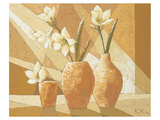 Vases with White Amaryllis Prints by Karsten Kirchner