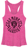 Juniors Tank Top: Gas Monkey- Rally Womens Tank Tops