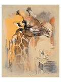 Wildlife Giraffe Prints by  Joadoor