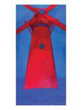 the Red Mill 1911 Reproduction giclée Premium par Piet Mondrian