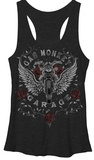 Juniors Tank Top: Gas Monkey- Monkey Rose T-Shirt