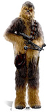 Star Wars Episode VII: The Force Awakens - Chewbacca Silhouettes découpées en carton