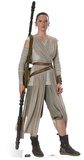 Star Wars Episode VII: The Force Awakens - Rey Silhouettes découpées en carton