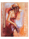 Tamara Print by Talantbek Chekirov