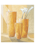 Three Calla Lilies Posters af Karsten Kirchner