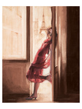 Wonderful View over Paris Giclee-tryk i høj kvalitet af Talantbek Chekirov